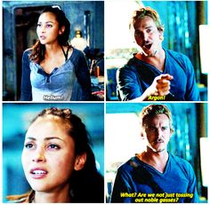 Raven and Wick || The 100 season 2 episode 4 - Many happy returns || Lindsey Morgan and Steve Talley