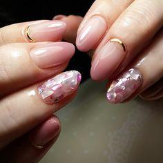 いいね!341件、コメント2件 ― nailist Shinaさん(@shinanail)のInstagramアカウント: 「Pink × Pink のシェルミックス❤ 毎回少しづつ違うんです🙋✨ #nailart #naildesign #nails #nailartlover #jel #jelnail #ネイル…」
