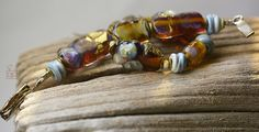 :Hyacinth: Glass beads&jewelry by Deborah JLambson