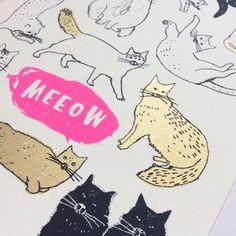 Meeow Meeeeow Print