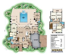 French Country Floor Plan