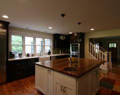 large kitchen | CBi Design Professionals #kitchen #kitchen island #traditional kitchen