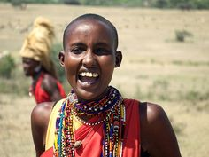 Masai people of Kenya are the most prominent people as far as African culture are concerned. On this page, It's said that they are the most brave people in south of the Sahara. Maasai People, Human Skin Color, Woman Singing, African Proverb, Tribal People, African Tribes, Rite Of Passage, We Are The World, African Culture