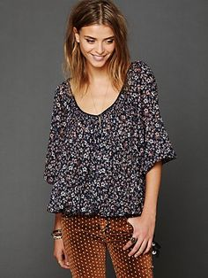 FP One Printed Blouse
