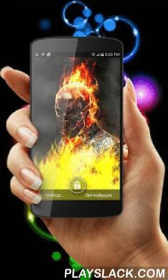Ghost Rider Fire Flames LWP  Android App - playslack.com , Welcome to APK-ANDY-Live-Wallpapers where we strive on bringing you the best content and live wallpapers to your android device. We pride ourselves on making top grade A quality live wallpapers.We present to you, Ghost Rider Fire Flames Live Wallpaper. The Ghostrider is here and all Hell is broke loose, touch the screen to make fireball explosions and play with fire like a pyrotechnic.***FEATURES**** Awesome fire and flames…
