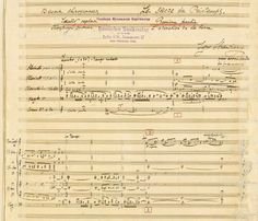 The Rite of Spring: Igor Stravinsky's own hand-written manuscripts are published for the first time in 2013.