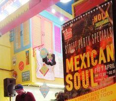 """Συμβαίνει τώρα.... Το SoulFood Thessaloniki συνεχίζει το ταξίδι των γευστικών του εξερευνήσεων συστήνοντας στο κοινό, μερικές από τις πιο Forward Thinking κουζίνες!!! #HolaMexicana #HolaStreetFood """"SoulFood Thessaloniki: Mexican Soul Κούσκουρα 6"""