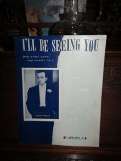 I'll Be Seeing You by NewYorkByVarone on Etsy