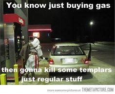 Ezio pumping gas