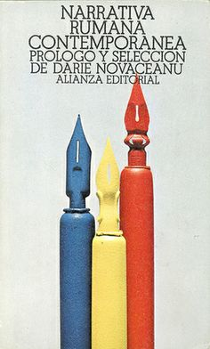 "Cover design: Daniel Gil. Spanish edition of ""Contemporary Romanian Narrative,"" edited and with an introduction by Darie Novăceanu. (Alianza Editorial, Madrid, 1974.)"