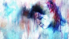 Kai, Color Pop, Crying, Abstract, Artwork, Painting, Games, Summary, Work Of Art