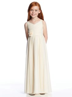 Cheap dresses communion dress, Buy Quality communion dresses directly from China first communion dresses Suppliers: Ivory flower girl dresses for weddings pleats chiffon beach casual girls pageant dresses first communion dresses for little girl Designer Bridesmaid Dresses, Junior Bridesmaid Dresses, Pageant Dresses, Bridal Dresses, Wedding Gowns, Flowergirl Dress, Party Dresses, Ivory Flower Girl Dresses, Little Girl Dresses