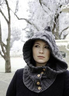 Through the Woods Hoodlet free pattern