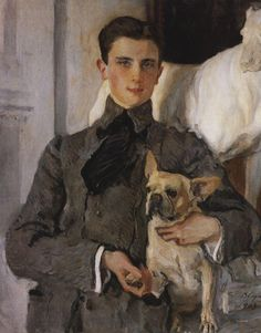 cavetocanvas:    Valentin Serov, Portrait of Count Feliks Feliksovich Sumarokov-Yelstov, 1903