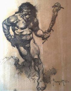 Cap'n's Comics: A Trio of Rare Frank Frazetta
