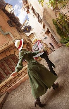 Howls moving castle cosplay