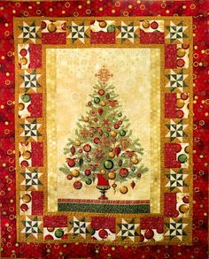 Snowman Gatherings Quilt Kit includes wool for appliqued snowmen ... : christmas quilting panels - Adamdwight.com