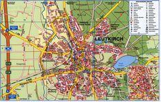 Hévíz Térkép Stadtplan Map; 2017_2, Zala co., Hungary | Explore