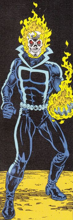 Old school Ghost Rider