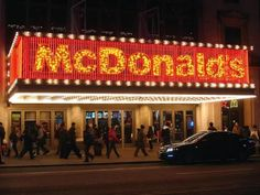 Top Ten World's Most Outrageous And Stylish McDonald's.