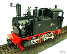 DR Dampflokomotive (Steam locomotive) BR 99 7501