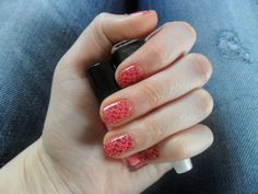 Fashion Love: Pink Leo Nails