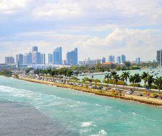 Beautiful U.S. City Skylines: Miami