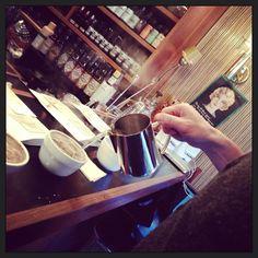 Nov. 2013. #coffee #shop #cupping #japan #tokyo #tomigaya