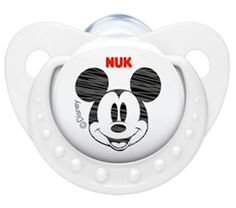 NUK Disney Mickey Minnie Pacifier Soother 6-18 Months Silicone White (9194-2) #NUK