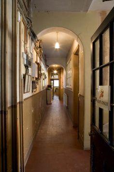 Luxury English Country Manor House Foyer