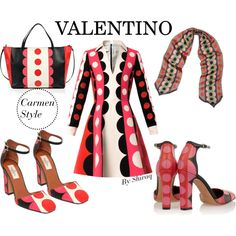 Valentino Carmen Print - bold, colorful, but I could never pull it off :)