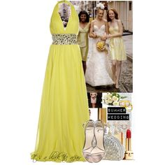 Summer Wedding: It's a Black Tie affair ;), created by ecynam on Polyvore