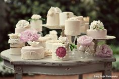 check out these vintage inspired cakes by #tiffanysbakingco in #studiowedasheville