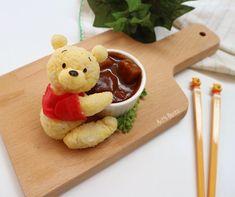Winnie the Pooh sushi art by AnT's Bento (@antsbento)
