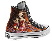 Unique shoes: Manga, games and movie characters - Hand painted shoes (Custom / Converse / Vans)