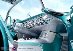 1954 Pontiac Bonneville concept - Interior Dashboard