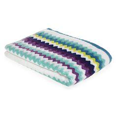 Wilko Zig Zag Bath Towel