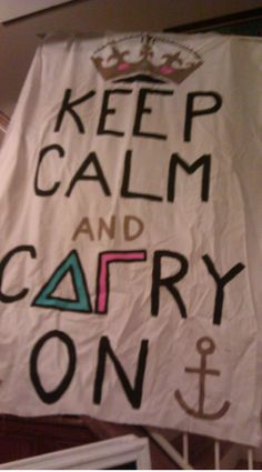 DELTA GAMMA banner, love this want to make one just for my room!