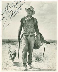 John Duke Wayne - Inscribed Photograph Signed 1968