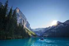 Lake Louise is world famous for its turquoise lakes, the Victoria Glacier, soaring mountain backdrop, palatial hotel, and incredible hiking and skiing. Surrounded by a lifetime's worth of jaw-dropping sights and adventures, Lake Louise is a rare place that must be experienced to be believed.