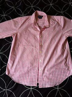 Land's End Pink Pattern Size 10 #Women's Button Down Long Sleeve Spring Shirt | eBay