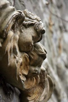 carved cherubs