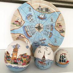 #hediyelikçini #çini #maviçini #kişiyeözelçini #tasarımçini #elyapımı #handmade #pinterest #like #art Polish Pottery, Paint Designs, Decorative Plates, Hand Painted, Ceramics, Sculpture, Mugs, Ceramic Art, Tableware
