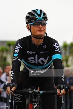 Vasil Kiryienka of Belarus and Team SKY arrives at the rider sign on at the start of stage four of the 2016 Tour de France, a 237.5km road stage from Saumur to Limoges, on July 5, 2016 in Limoges, France.