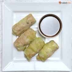 Get easy meal prep recipes like this from - vid via IG - RuledMe meals asian Steamed Cabbage Rolls Slow Cooker Recipes Cheap, Slow Cooker Sausage Recipes, Cooking Recipes, Oven Cooking, Cooking Oil, Camping Cooking, Cooking Videos, Cooking Utensils, Cooking Classes