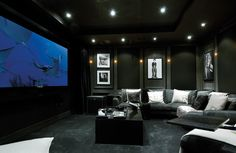 Ideas on how to Design your Own Home Cinema Room When winter really takes hold, hiding away with a good film somewhere warm & snug is just so tempting. Discover how to design a cinema room in the comfort of your own home for the ultimate movie experience. Cinema Room Small, Home Cinema Room, Home Theater Setup, Best Home Theater, At Home Movie Theater, Home Theater Rooms, Home Theater Seating, Home Theater Design, Small Home Theaters