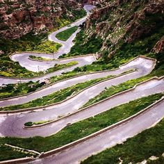 Windy road in Al-Qosh, Iraq - photo by Dominic Nahr, via instagram