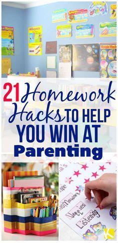 21 Homework Hacks to Help You Win at Parenting