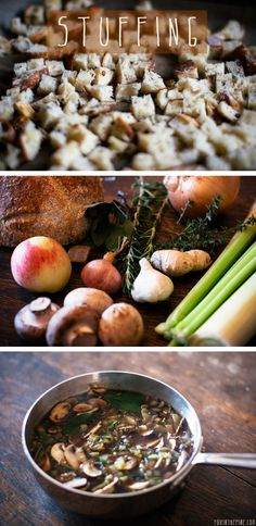 Rustic stuffing recipe.