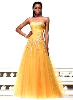 Yellow Prom Dress Idea.  $90.00